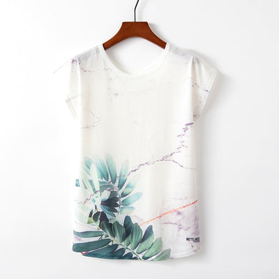 Cycad Marble Tee - ThepotplantCo