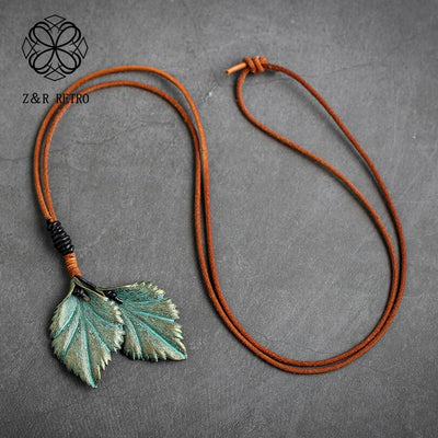 Best Leaf Jewelry Necklace