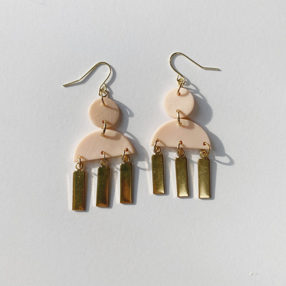 Maren Earrings in Pink