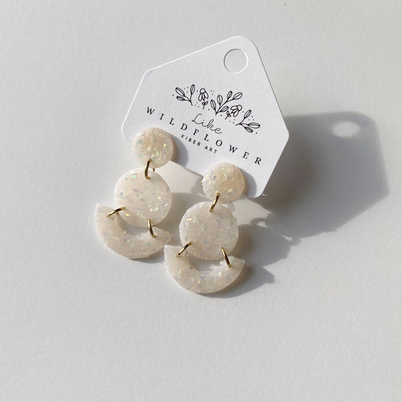Mini Grace Studs in Confetti