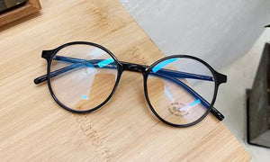 Thin frame adult blue light blocking glasses