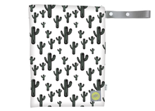 Load image into Gallery viewer, Travel Happens™ Medium Wet Bag-Cactus