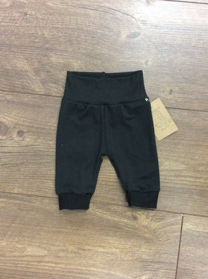 Solid Black Baby Joggers