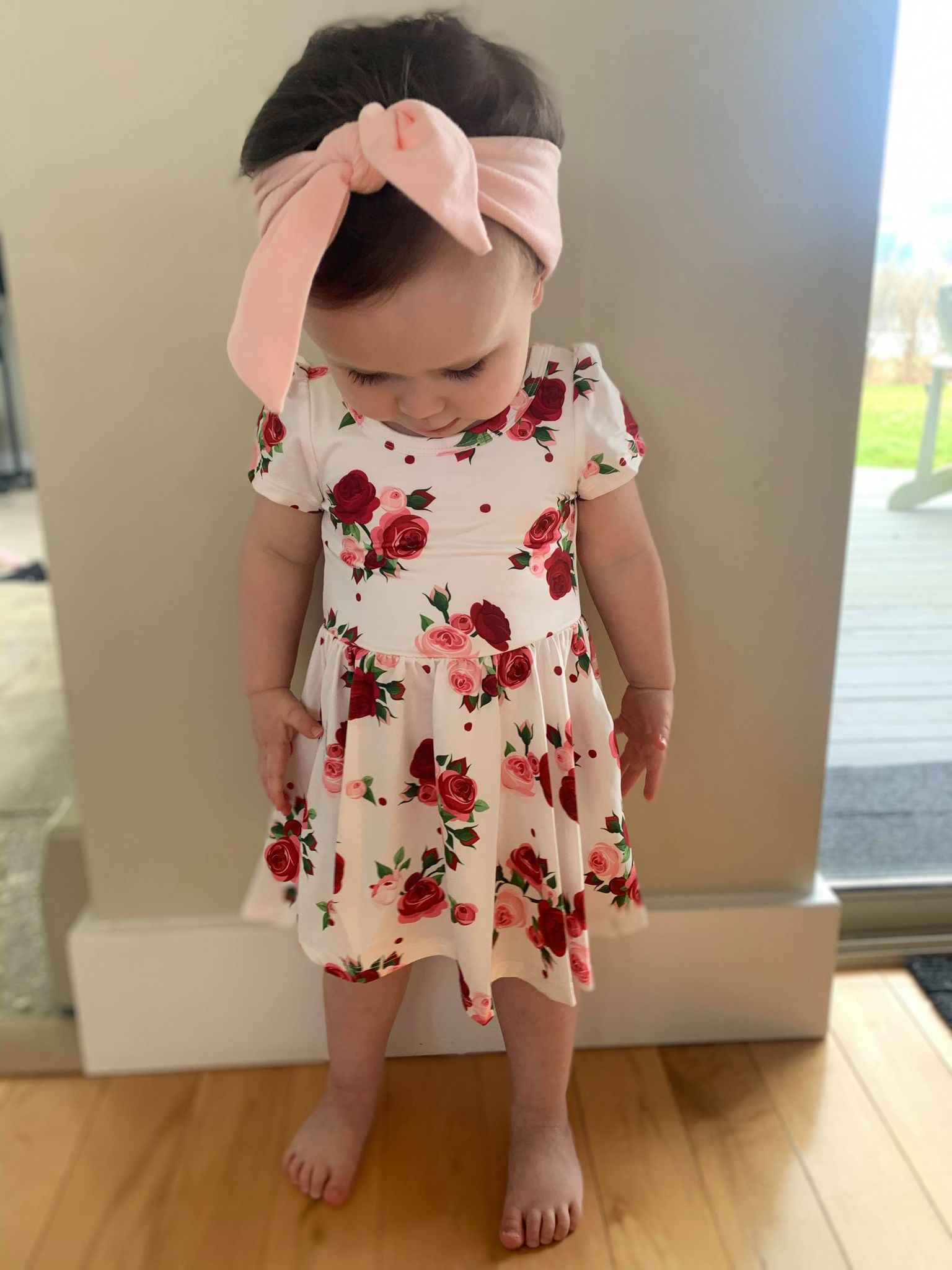 Delicate Rose Hugs Dress