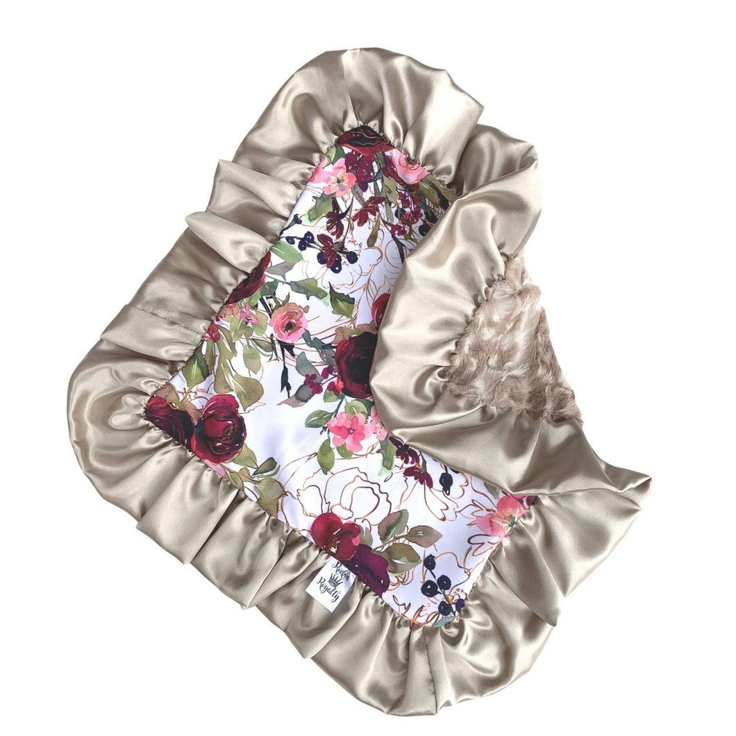 Lush Floral Fawn Lovey