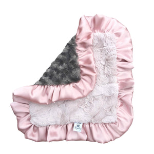 Dusty Rose Luxe Cuddle Lovey