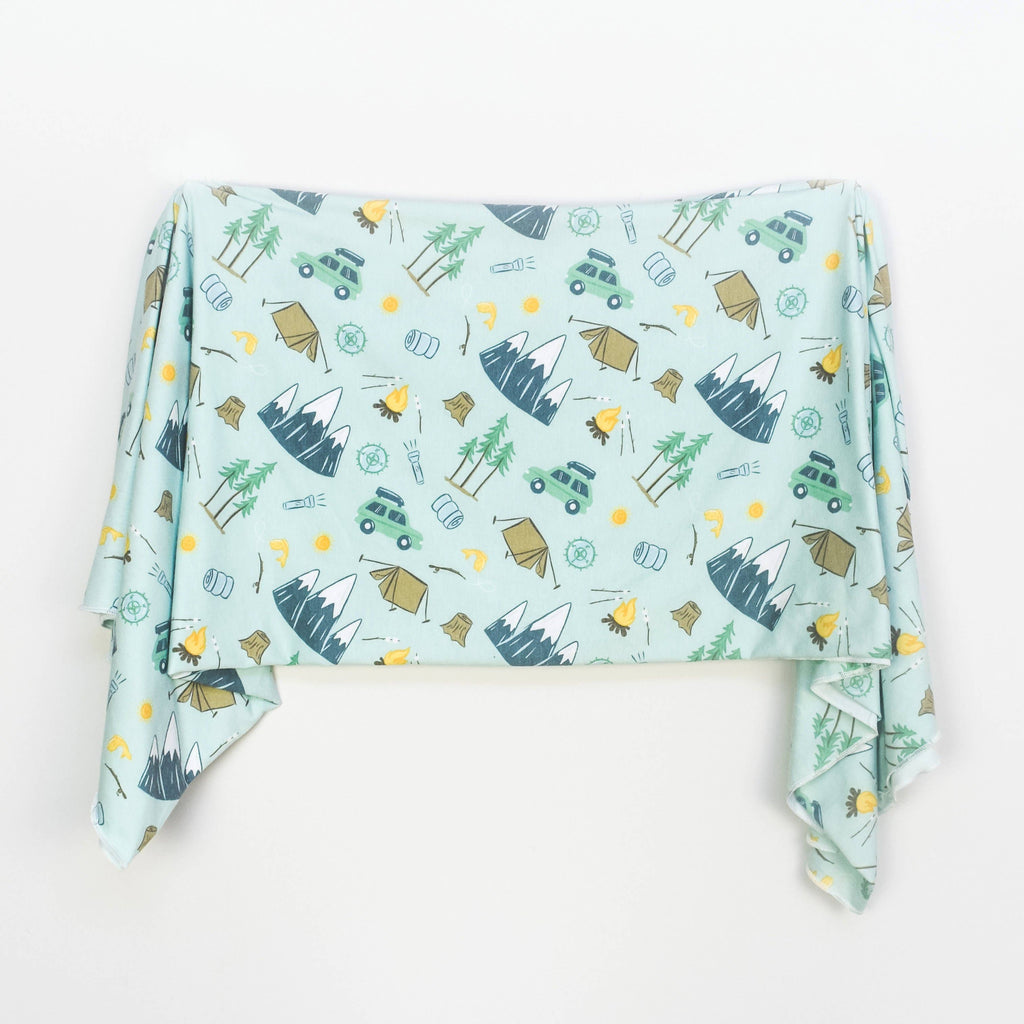 Outdoor Adventure Swaddle Blanket