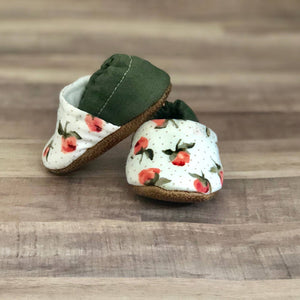 Southern Floral Moccasins