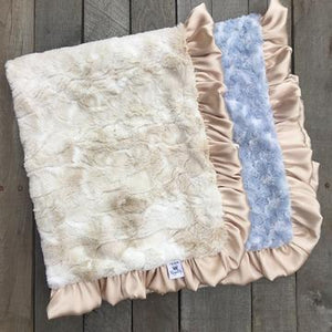 Luxe Rabbit Sky Blanket