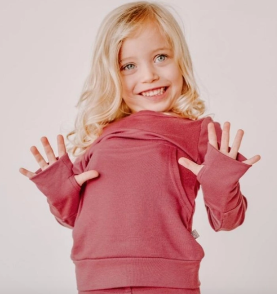 Kids Loungewear- Berry