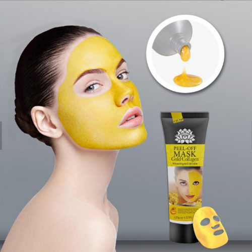 24K Gold Collagen Face Mask - Vallisia