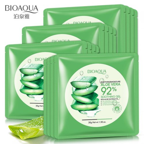 10pcs aloe vera facial masks - Vallisia