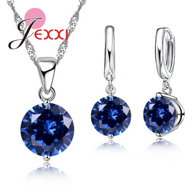 JEXXI Crystal Jewelry set for Women - Vallisia