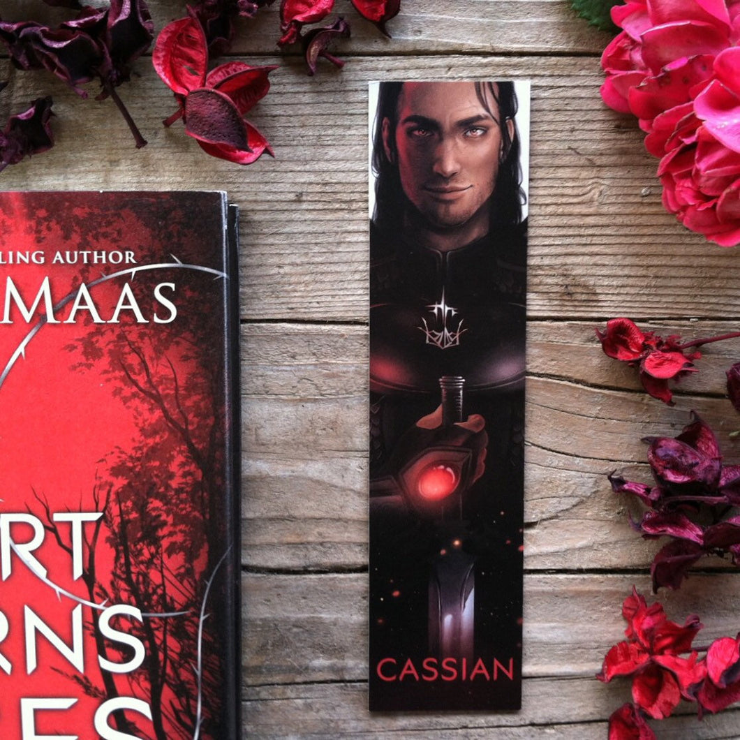 Cassian ACOTAR bookmark