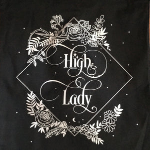 High Lady tote bag; limited
