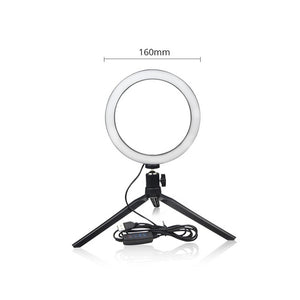 Dimmable USB Selfie Light Ring