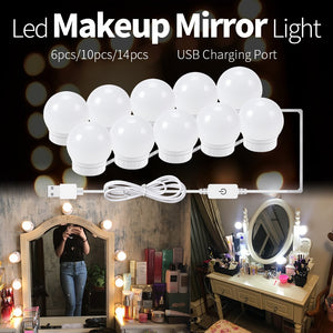 UNOVANITY DIMMABLE VANITY MIRROR LIGHTS