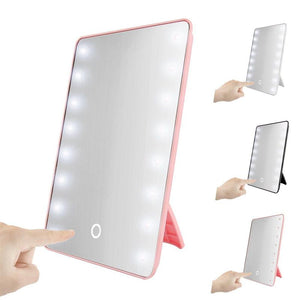 Cosmetic Mirror With Touch Dimmer