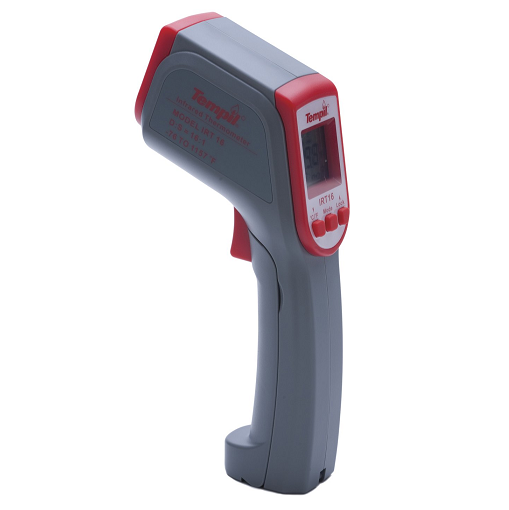 024201 Tempil IRT-16 NIST Certified Infrared Thermometer: Reads -76 deg. F to 1157 deg. F