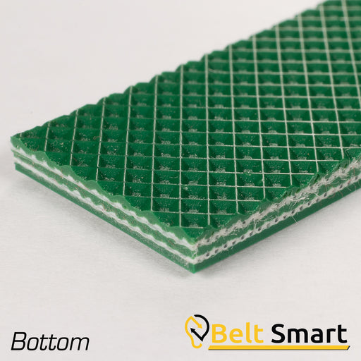 BS115 - #115 Beltservice E10/2 V10IP/V10 Green AS Conveyor Belt