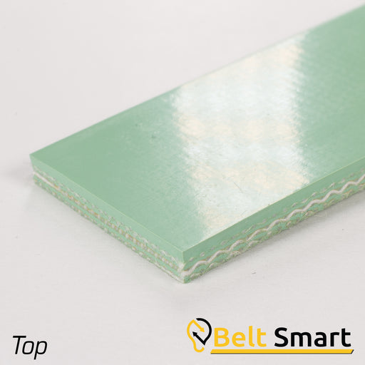 BS014 - #14 Beltservice 3 Ply 90 Green Nitrile COS Conveyor Belt