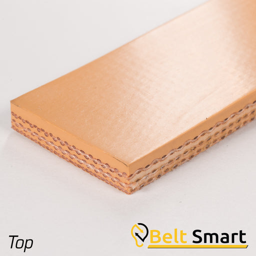 BS015A - #15a Beltservice 3 Ply 150 Tan Nitrile COS Conveyor Belt