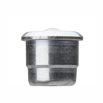 "1814 Alemite Flush Type Threaded - Drive Fitting - Thread: Drive - Type: Straight - Overall Length: 3/8"" - Shank Length: 5/16"" - Drill Diameter: 3/16"""