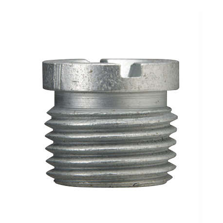 1815 Alemite Flush Type Threaded - Slotted Fitting - Thread, Overall Length - Type, Slotted - Overall Length, Shank Length - Shank Length, Hex Size - Drill Diameter, Thread