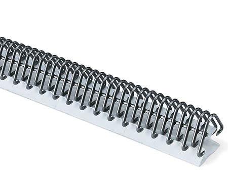 "U3 / U3C24 - Flexco Clipper Coated Steel 24"" Unibar Fasteners/Hooks - Without Pins - 18454 - .187"" to .219"" (3/16"" to 7/32"") Belt Thickness"