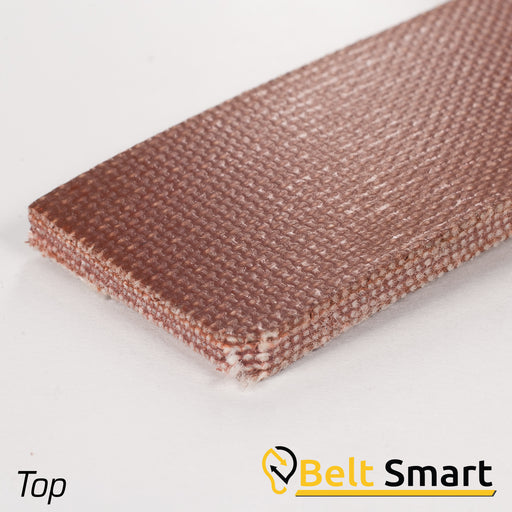 BS025 - #25 Beltservice 5 Ply Brown Nitrile FBS Conveyor Belt