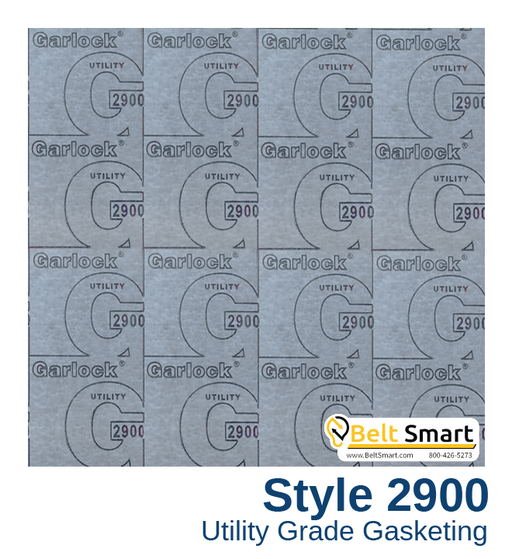 Garlock BLUE-GARD® Style 2900 - 0.125 in. thick / 60in. x 60in.