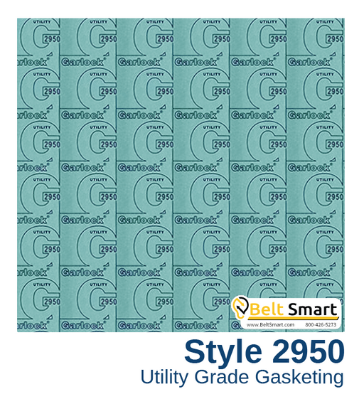Garlock BLUE-GARD® Style 2950 - 0.125 in. thick / 60in. x 180in.