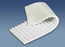 BS002B1 - #2b1 Beltservice 2 Ply Poly White PVC Sawtooth x Bare ST FDA NA Conveyor Belt