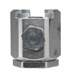 "304301 Alemite Button Head Coupler - Standard Pull-On Fitting - Thread: 7/16""-27 NS-2(f) - Pressure: 15,000 PSI"
