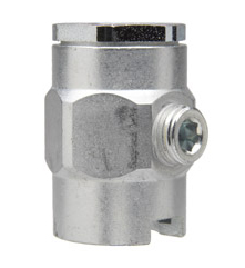 "319702 Alemite Button Head Coupler - Standard Pull-On Fitting - Thread: 7/16""-27 NS-2(f) - Pressure: 15,000 PSI"