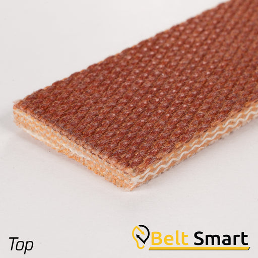 BS032 - #32 Beltservice 4 Ply Tan Sliptop Conveyor Belt