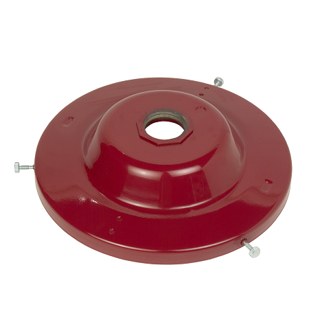 "338977 Alemite Pump Accessory - Drum Covers - Bung Mount - Bung Opening: 2"" NPTF - Drum Size: 120 Lb. / 16 Gallon"