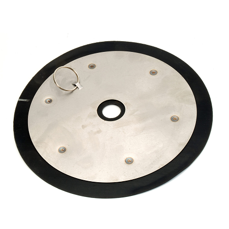 "338991 Alemite Pump Accessory - Follower Plates - Drumsize: 12.5 Kg. (270 mm) - Tube Diameter: 29 mm - 10.63"" OD - use with Metric RAM, H and SuperH"