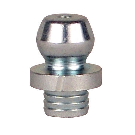 "369591 Alemite Drive Fitting - Straight Drive - Overall Length, 21/50"" - Drill Diameter, 3/16"" - No Ball Check"