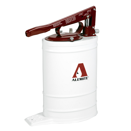 "7149-4 Alemite Manual Pumps - Bucket Pumps - Multi Pressure Bucket Pump - Outlet: 3/8"" NPTF(f) - Capacity: 5 Gallons"