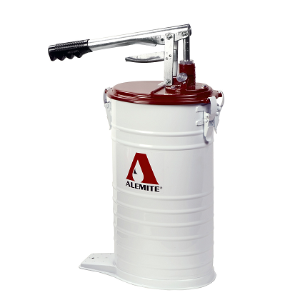 "7181-4 Alemite Manual Pumps - Bucket Pumps - High Volume Bucket Pump - Outlet: 3/8"" NPTF(f) - Capacity: 3.7 Gallons"