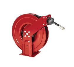 "8078-K Alemite Severe Duty Reels - Fuel - Connecting Hose Inlet, 3/4"" NPTF(m) - Delivery Hose Outlet, 3/4"" MPTF(m) - Delivery Hose specification,3/4"" x 30' (317868-30) - Max Pressure, 300 PSI"