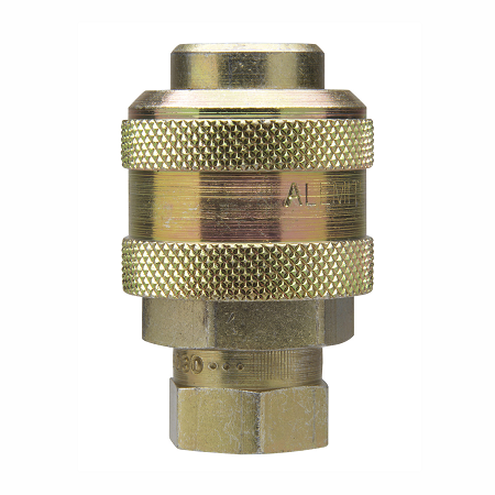 "B328030 Alemite Coupler - Air Thread: 1/4"" NPTF(f)  Extra Heavy Duty Standard Type - Blister Package"