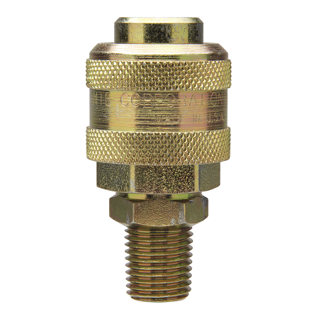 "B330604 Alemite Coupler - Air Thread: 1/4"" NPTF(m) Extra Heavy Duty Standard Type - Blister Package"