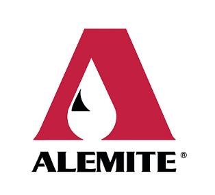 "381288-8 Alemite Spray Fitting - Inlet: 1/4"" Tube ftg. - Outlet: 1/8"" NPTF(m)"