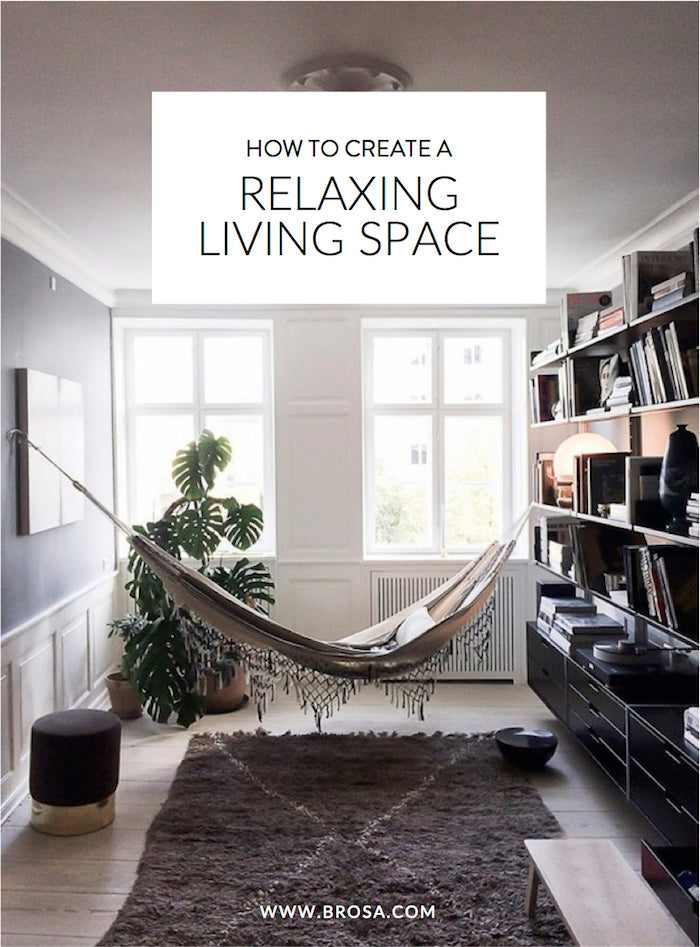 how to create a relaxing living space