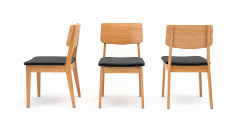 Mokuzai [_] 2 x Dining Chair Comfort and style, all together