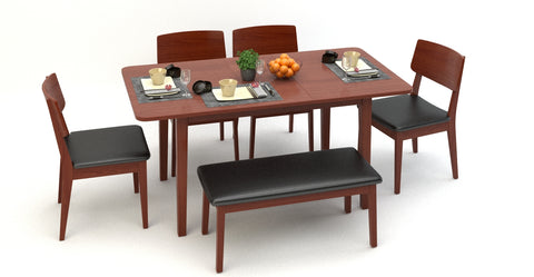 Mokuzai [木] Extendable Dining Table Mix and Match