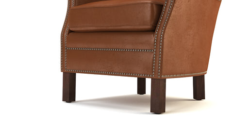 Philosopher Chair Top Grain Leather