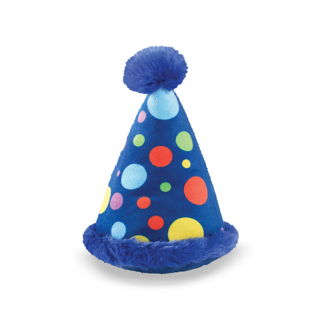 PETSHOP SMALL PARTY HAT DOG TOY